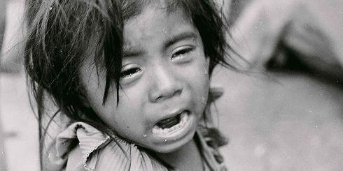 το κλάμα ενός παιδιού